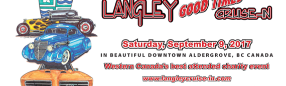 Langley Good Times Cruise-In – Saturday September 9